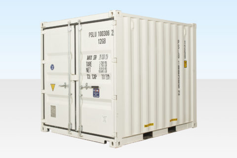 New 10ft Shipping Container - White