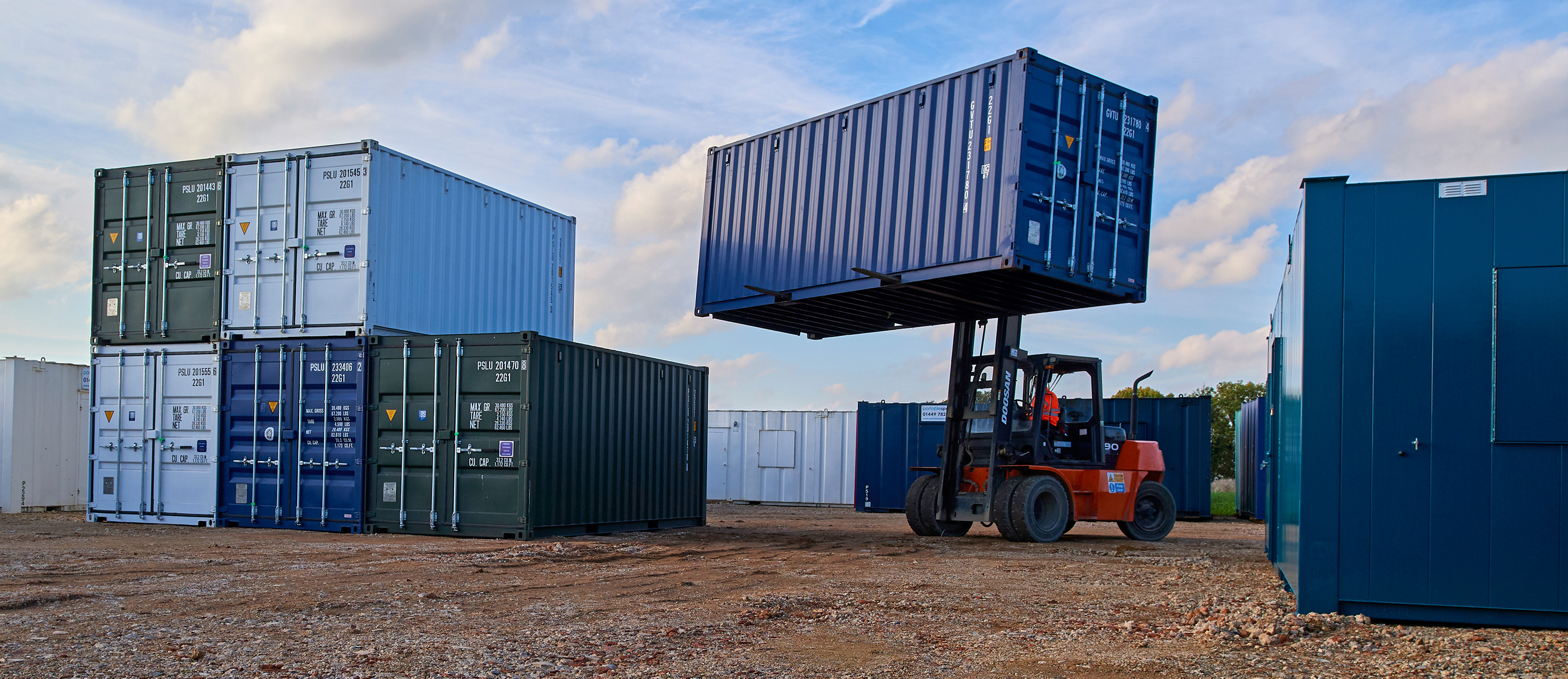 Container Hire - Shipping Container Hire UK | Portable Space