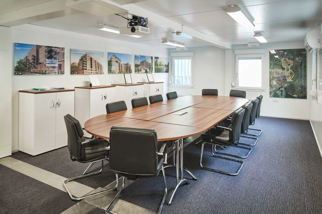 Boardroom in Modular Building