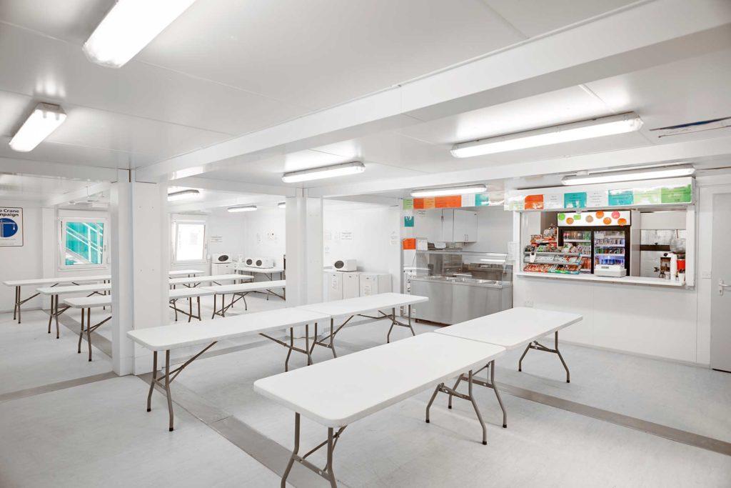 Euro Modular Building - Self-Service Canteen