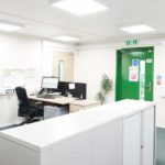 Compliant Modular Building - Office and Reception