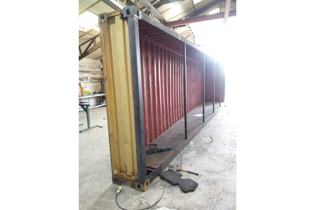Converting a 40ft container