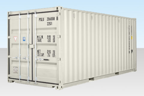 20ft White Shipping Container for Sale