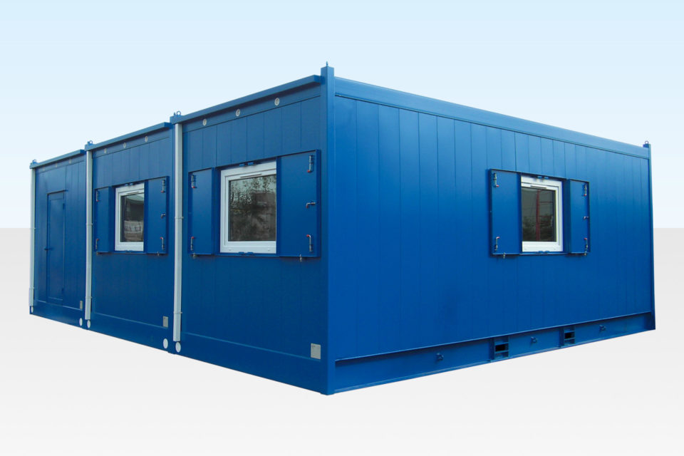 3 Bay Modular Building