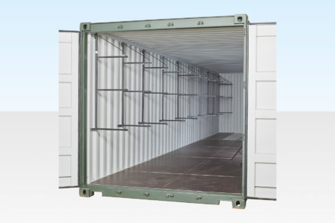 Container Racking 40ft - Fast Fit