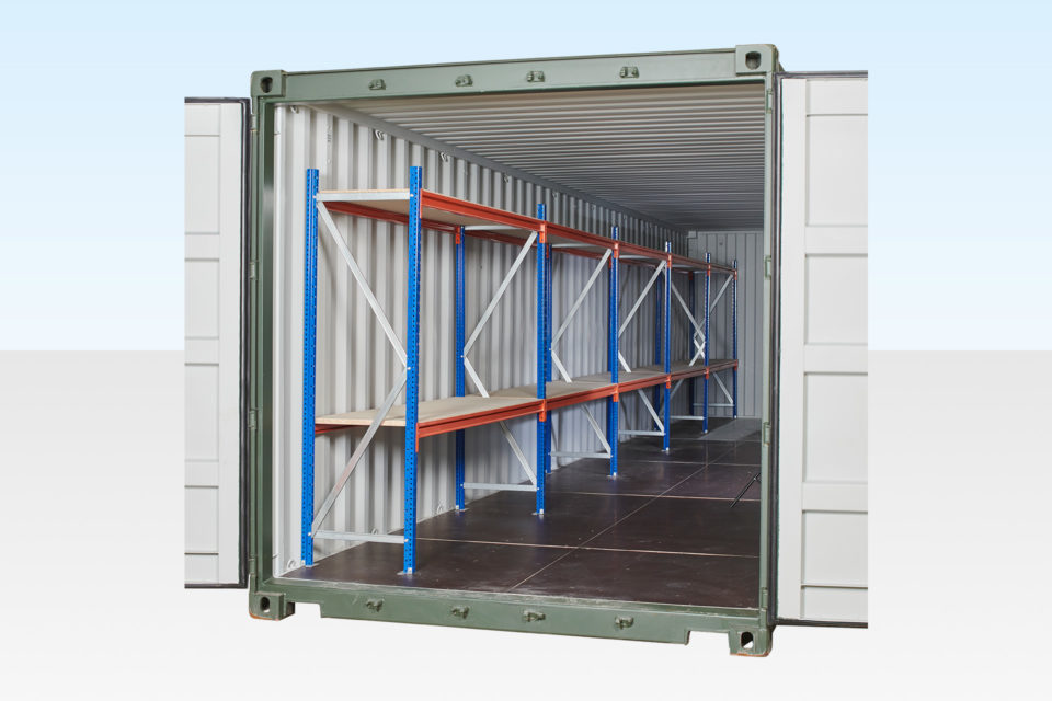 40ft Container Racking for Sale