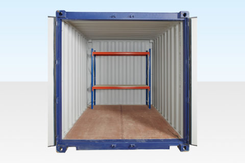 Container Racking End (2 Tier)