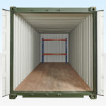 Container Racking at Rear (Two Tier)