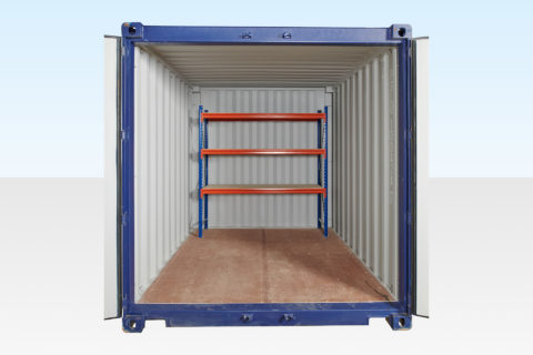 Heavy Duty Container Racking for Rear of 20ft, 30ft or 40ft