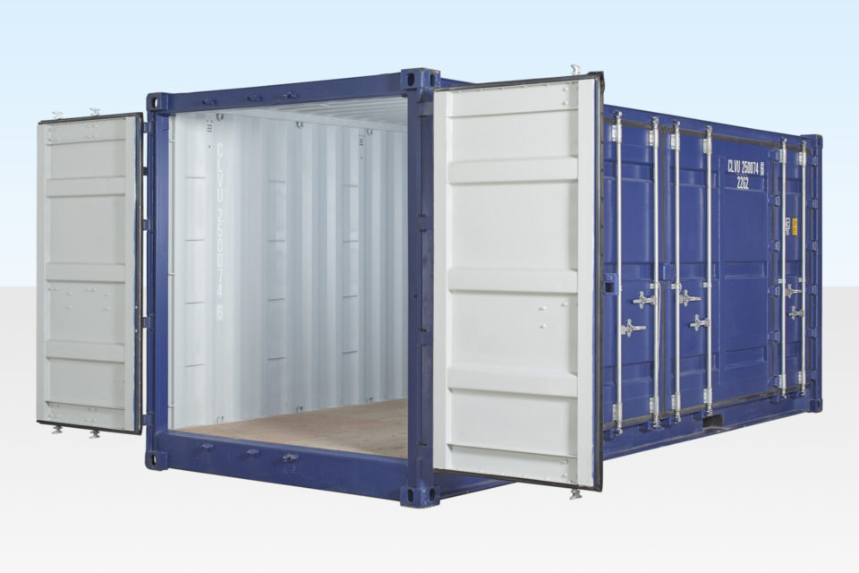 20ft Open Side Access Shipping Container