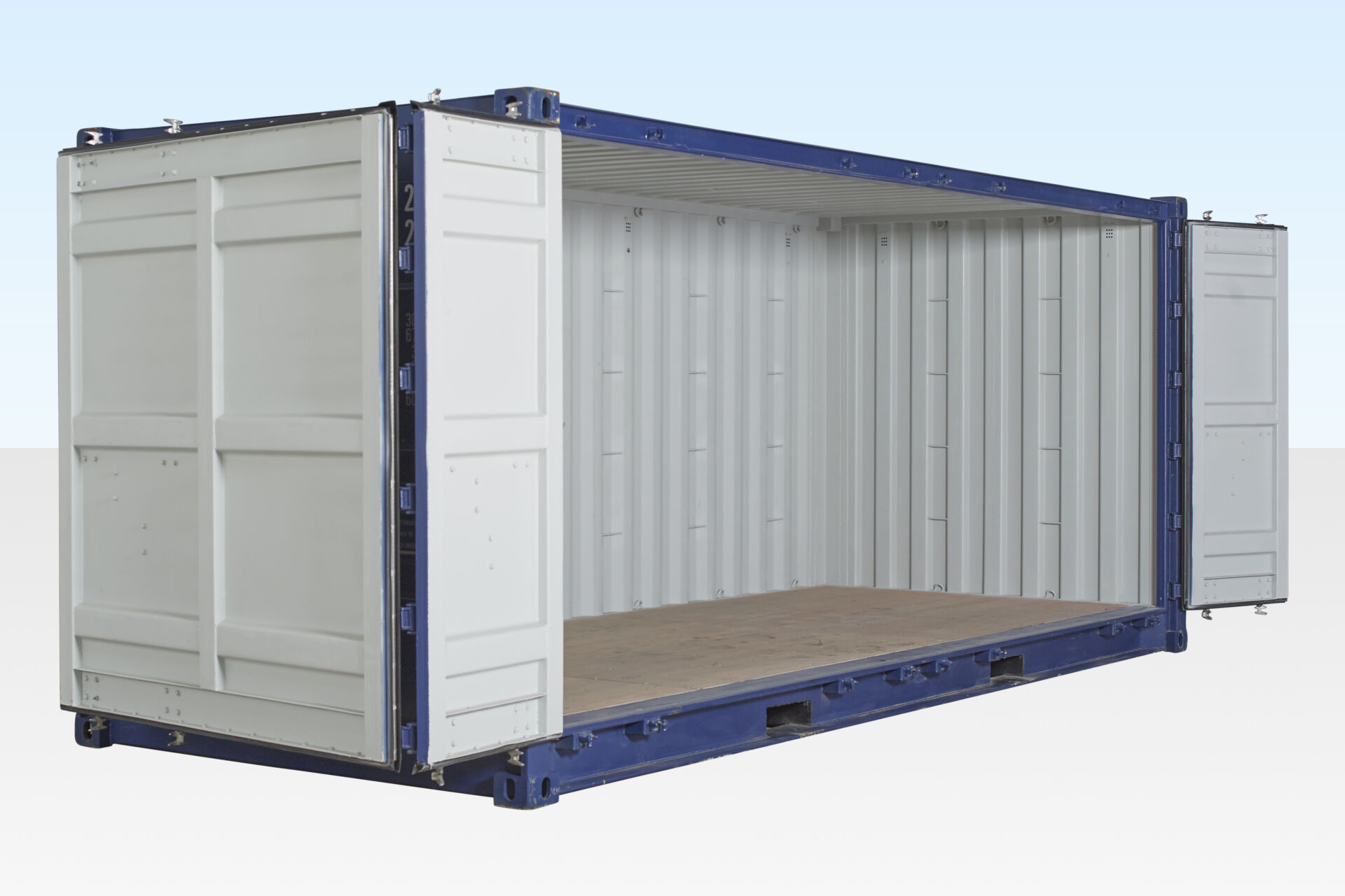 20ft Shipping Container >> 20ft Open Sided Container For Hire