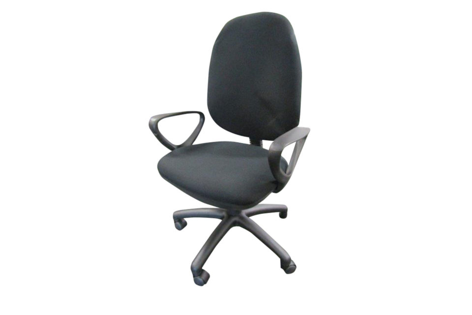 Operator chair (with arms) for site cabin