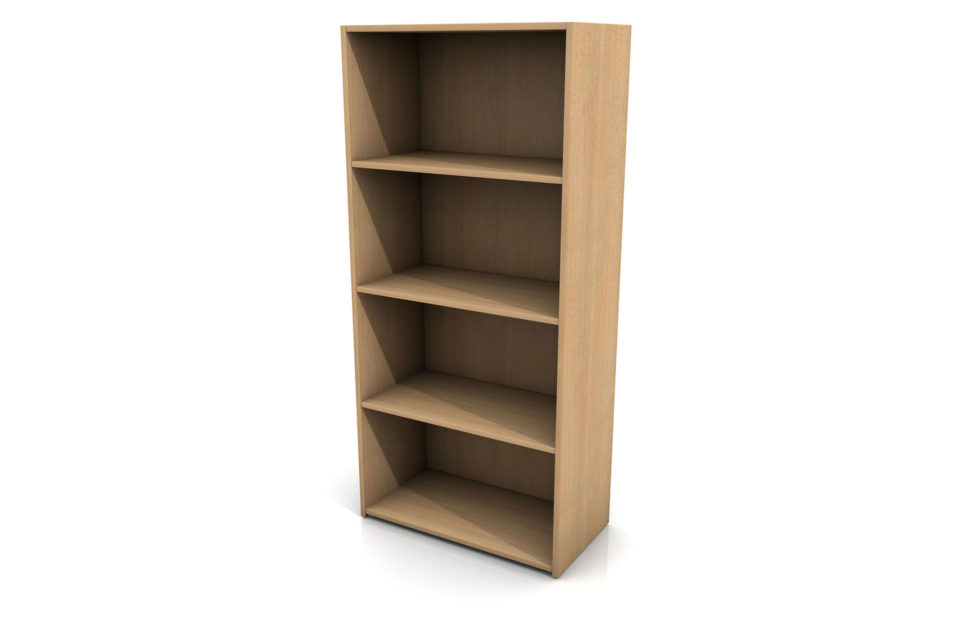 Large bookcase for site office