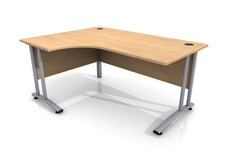 Desk for Site Cabin Left Hand Curve