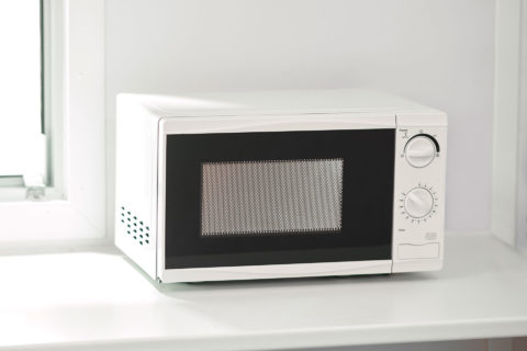 Buy a microwave for a site cabin