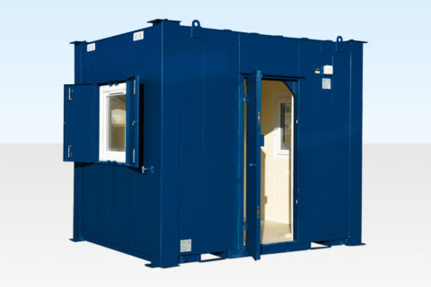 Site Security Hut for Sale RAL5013