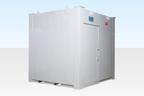 8ft x 9ft Steel Toilet Cabin