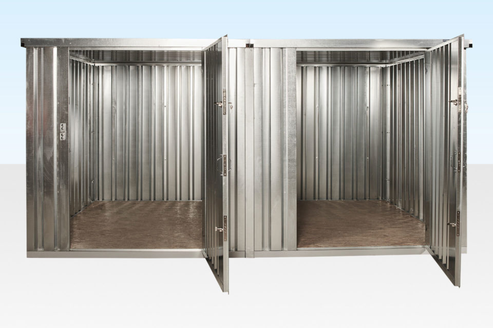 Linked Flat Pack Stores - Doors Open