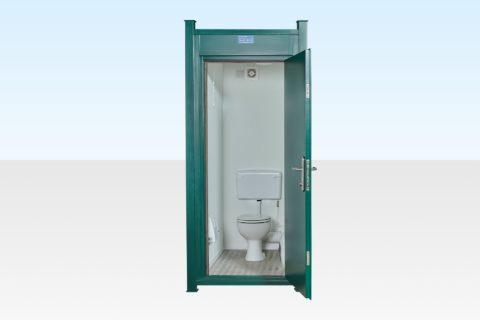Steel Anti-vandal single mains connected toilet