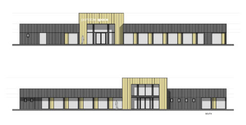 Portable Space New HQ Building in Stowmarket