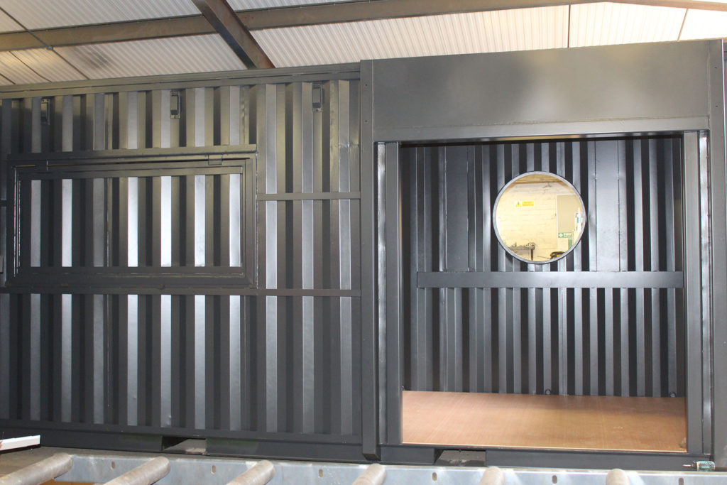 Stage 3 of a container conversion