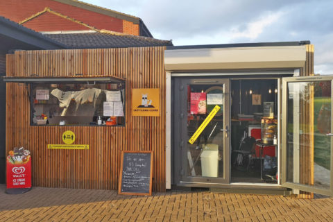 Lazy Llama Container Cafe