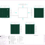 Layout Drawing 2m flat pack store