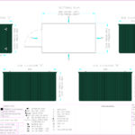 Layout Drawing 4m Flat Packed Container