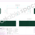 Layout Drawing 8m Store Green
