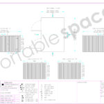 Layout Drawing 3m x 4.2m Side Linked Store