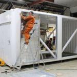 Container conversion in progress