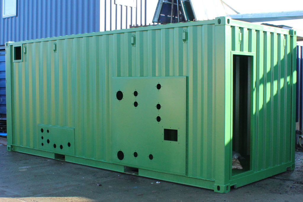 bespoke container conversion