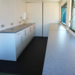 interior fitted out container bar