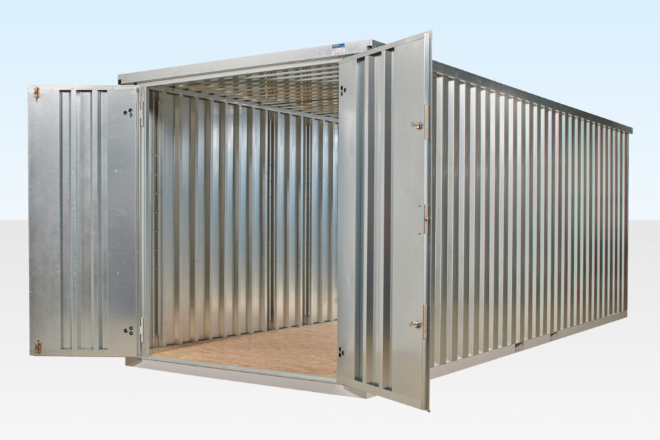 6m Flat Pack Container - Alternative to 20ft Shipping Container